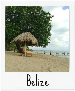 Belize Polaroid
