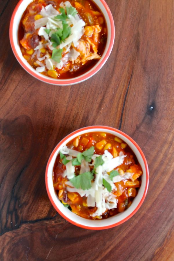 Spicy Mexican Chicken Soup Recipe