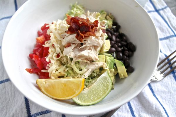 Southwestern Brussels Sprout Salad
