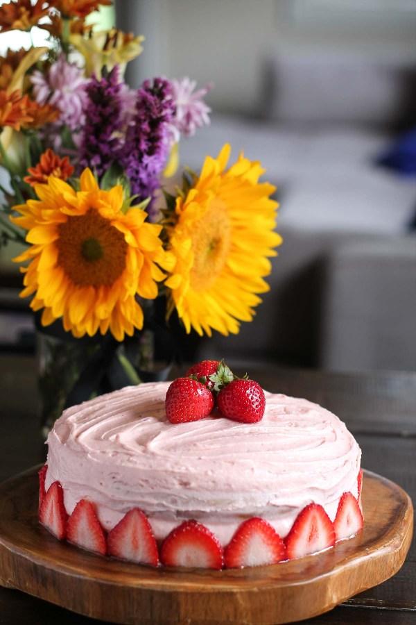 Strawberry Cake-3