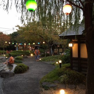 Visiting a Japanese Bath House in Tokyo