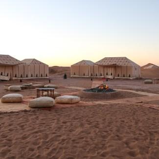 Glamping in the Sahara Desert Part 1