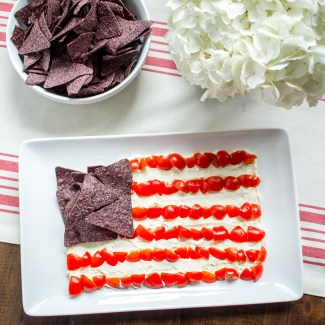 An Easy Appetizer for the 4th of July – Whipped Feta