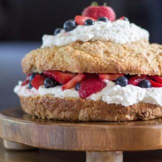 New England Style Strawberry Shortcake