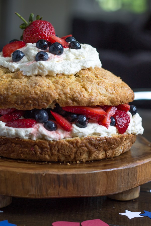 New England Style Strawberry Shortcake by The Kittchen