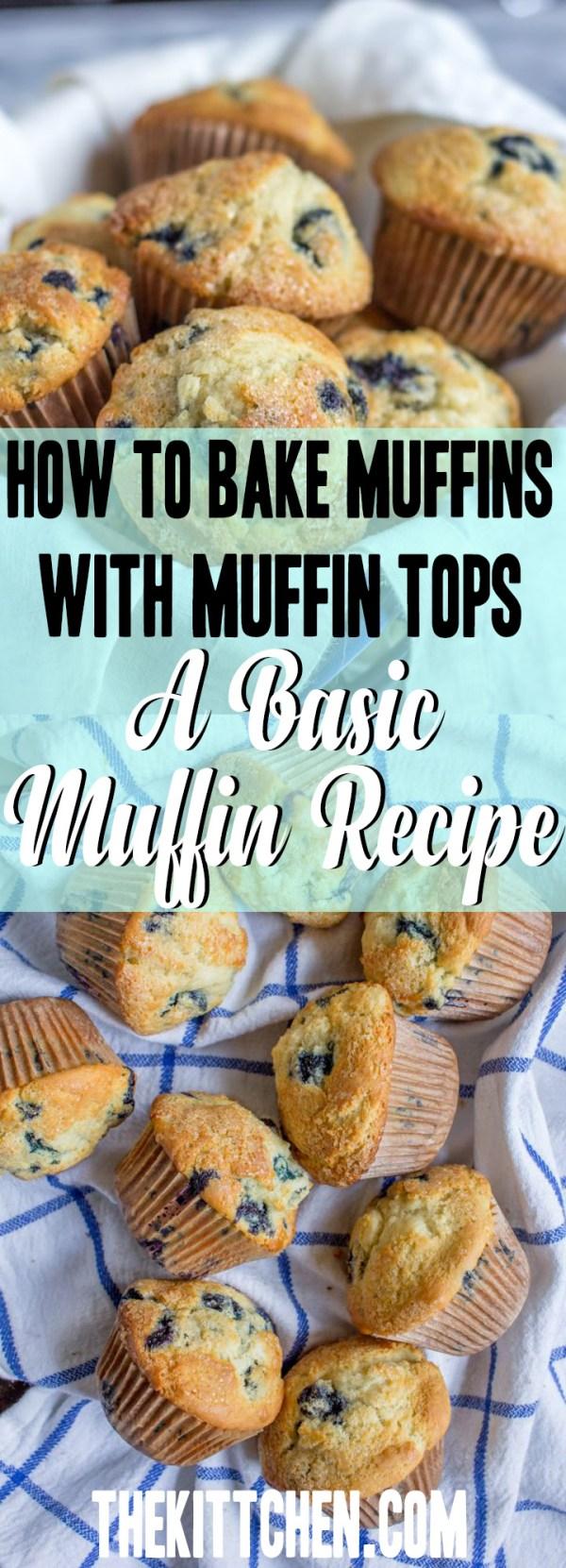 The best basic muffin recipe!