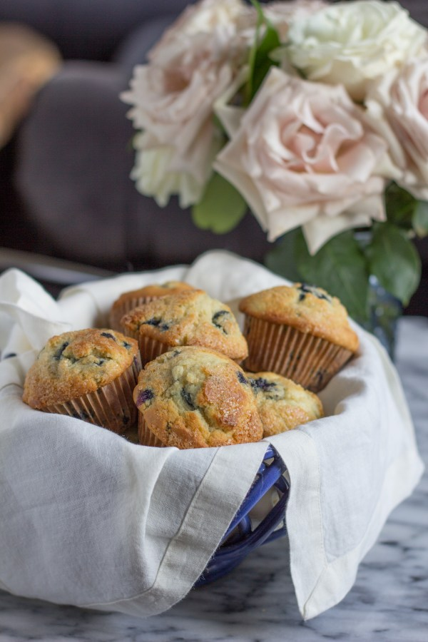 The best recipe for bakery style muffins!