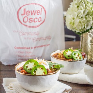 Jewel Osco's New Home Delivery Service and a Hearty Steak Chili Recipe