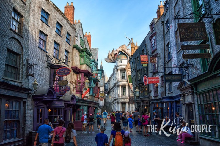 Diagon Alley and Gringotts