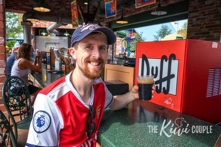 Duff Beer at Universal Orlando Resort