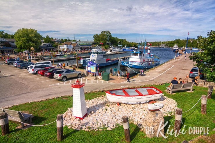 Little Tub Harbour in Tobermory