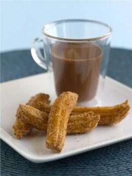 Churros with hot chocolate - Spain