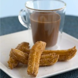 Churros with hot chocolate - Spain