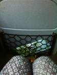 Too cramped for a big girl like me.