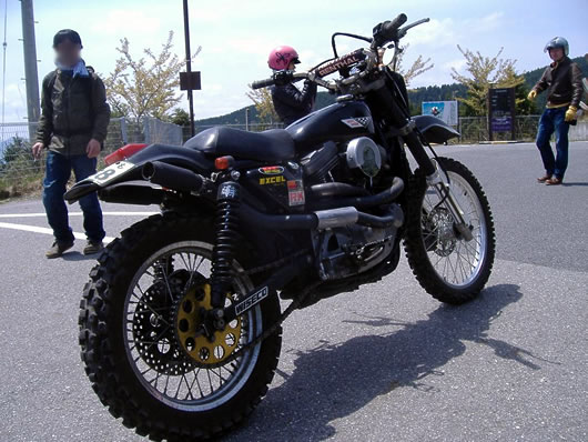 Off Road Sportster From An