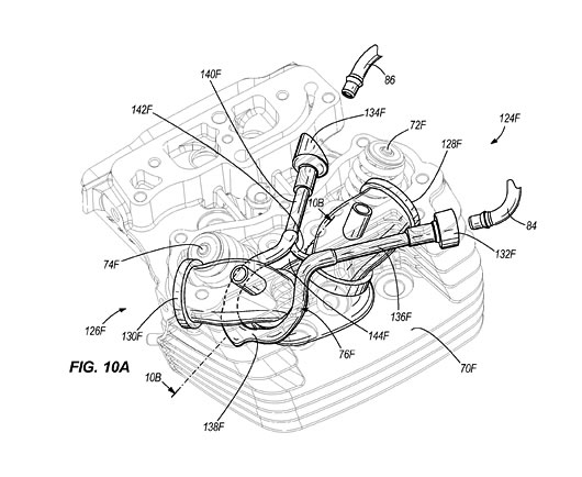 Harley Davidson Water Cooled Heads Patent