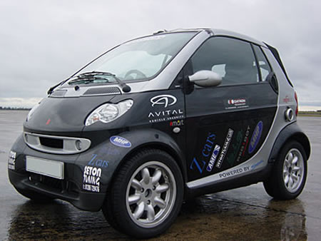 Smartuki - GSXR1000 powered Smart Car