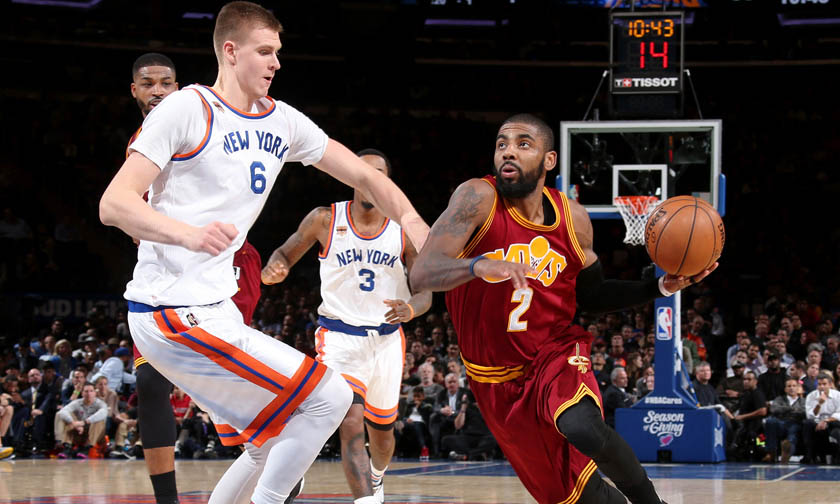 Knicks Film Study: How would Kyrie and Porzingis fit together?