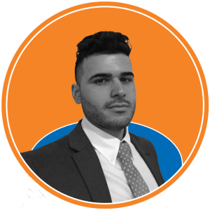 Photo of Kyle Maggio, financial manager at The Knicks Wall. The Knicks Wall is the number one source of New York Knicks news, Knicks rumors & original analysis. Graphic by Anthony Corbo