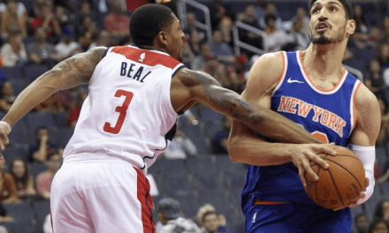 Without Their Star, the Knicks Sputter In D.C., Lose 104–100 in Preseason
