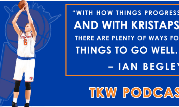 TKW Podcast: Frank's Home Debut, KP Dominates, Beat Pick-Up Ball feat. Ian Begley