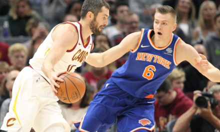 Knicks Shock Cavs, Win Second Straight Game Following Hardaway Jr. Outburst