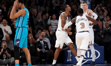 Knicks Film School: Lance Thomas Defense vs Kemba Walker and Hornets