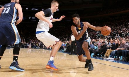 Knicks and Grizzlies Meet at the Garden