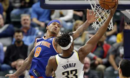 Knicks Swept in Back-to-Back, Fall to Indiana 115-97