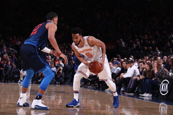 Knicks Defeat Oklahoma City Thunder 111-96 in Carmelo Anthony's Return