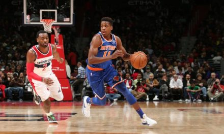 Knicks Battle Wizards at MSG
