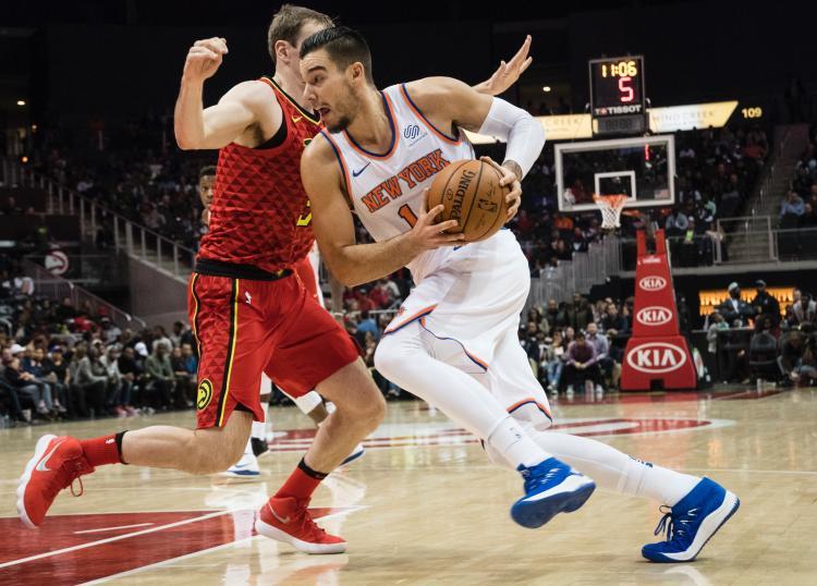 Knicks Deal Willy Hernangómez to Hornets