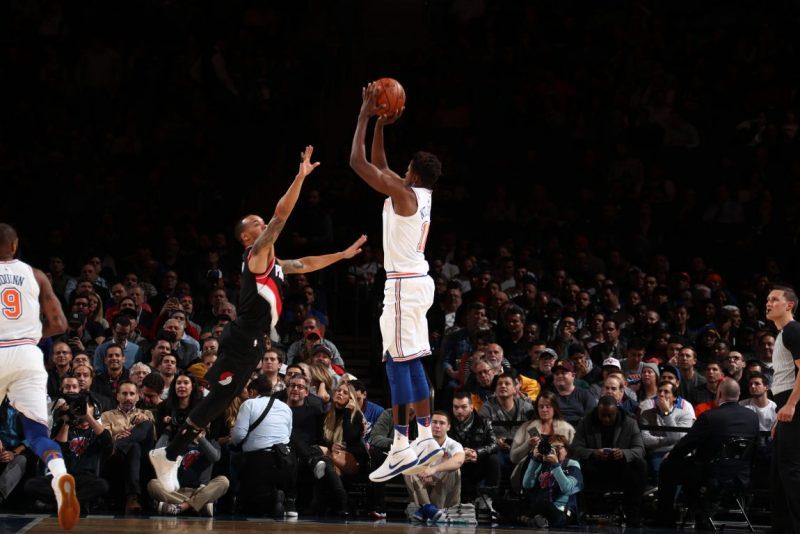Reeling Knicks Face Scorching Blazers