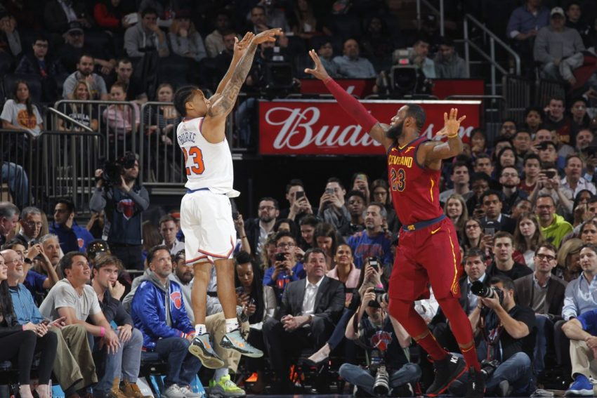 Knicks Head to Cleveland for Final Game of the Season