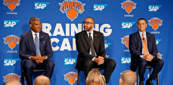 'Let's Go': Knicks Brass Eagerly Welcomes Season with New Challenges and Priority on Youth