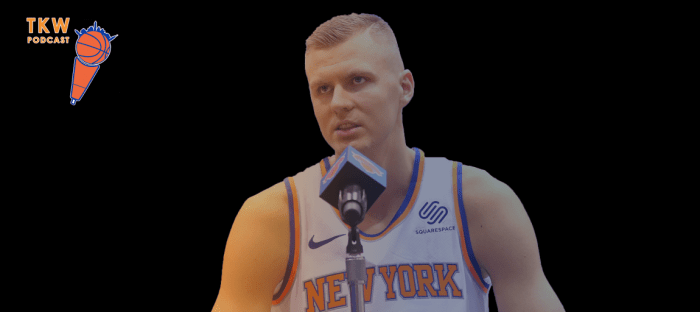 TKW Podcast: Knicks Starting Lineup, Robinson Expectations & Kristaps Week