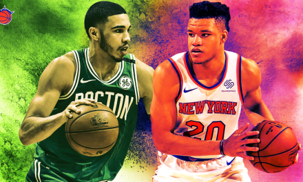 David Meets Goliath in the Knicks' Four-Game Season Series Matchup with the Boston Celtics