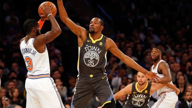 Fizdale's New Starters Keep Apace With Warriors — If Only for a Moment — in Latest Loss