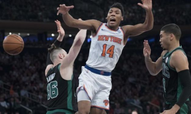 Knicks Lose Another Close Contest, Drop Home Game to Celtics