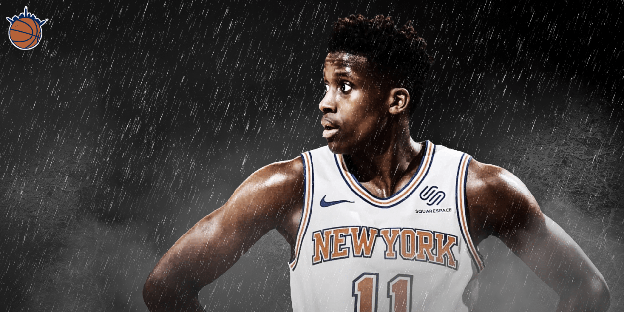 Frank Ntilikina's Ankle Injury Comes at Inopportune Time for Slumping Sophomore