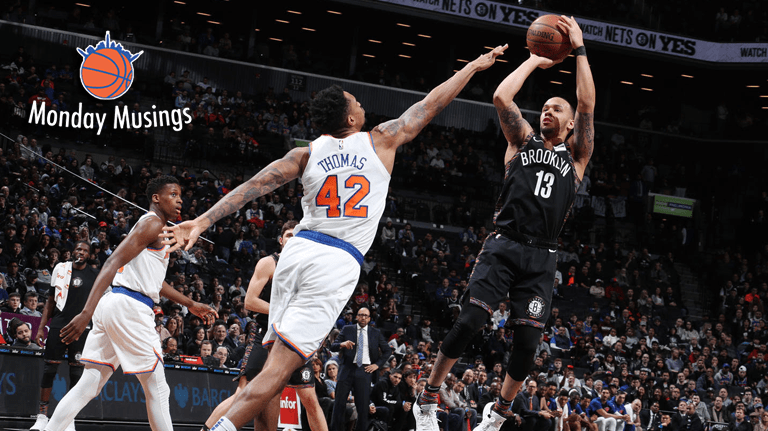 Monday Musings: Is the Nets' Rebuild Outpacing the Knicks'?