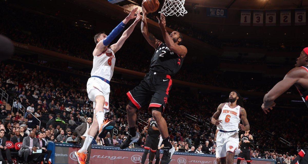 Knicks Lose to Raptors, Tie Franchise Record For Longest Losing Streak