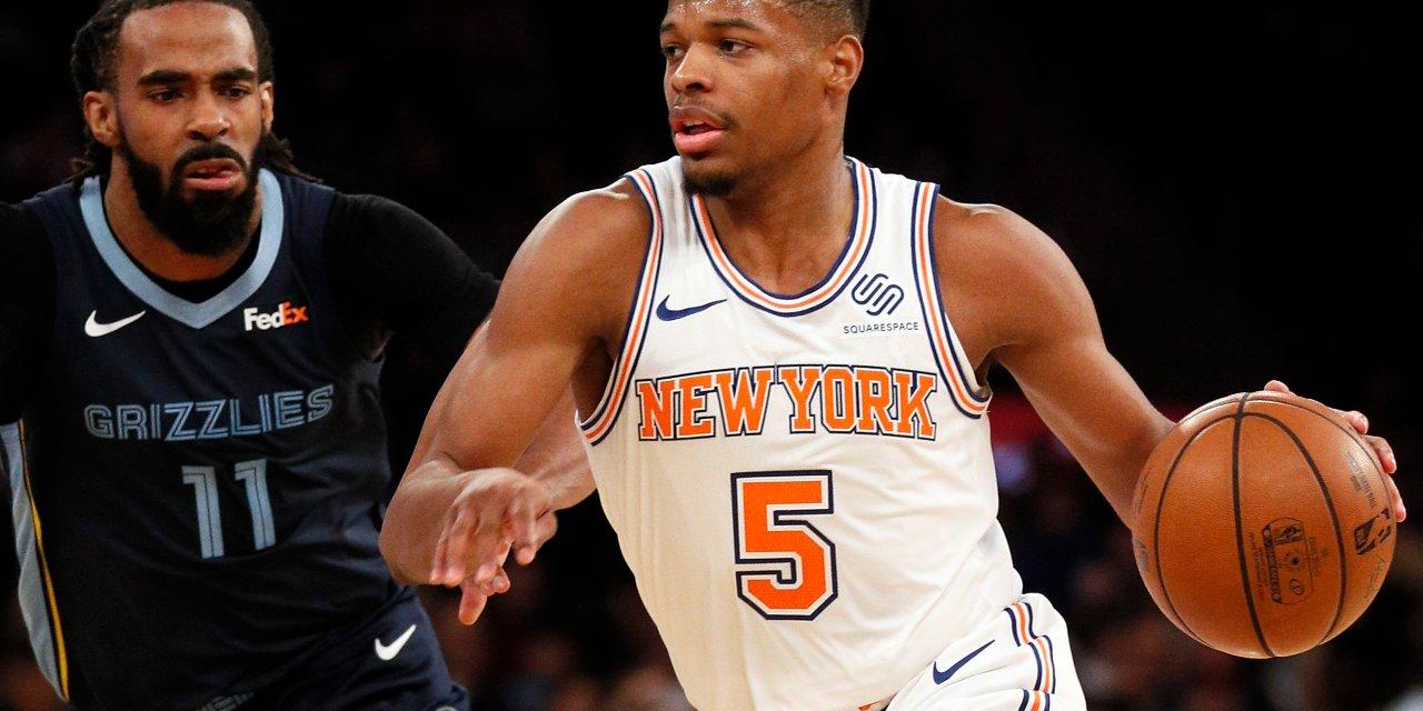 TKW Highlights: Dennis Smith Jr. and DeAndre Jordan Make Knicks Debut vs. Grizzlies