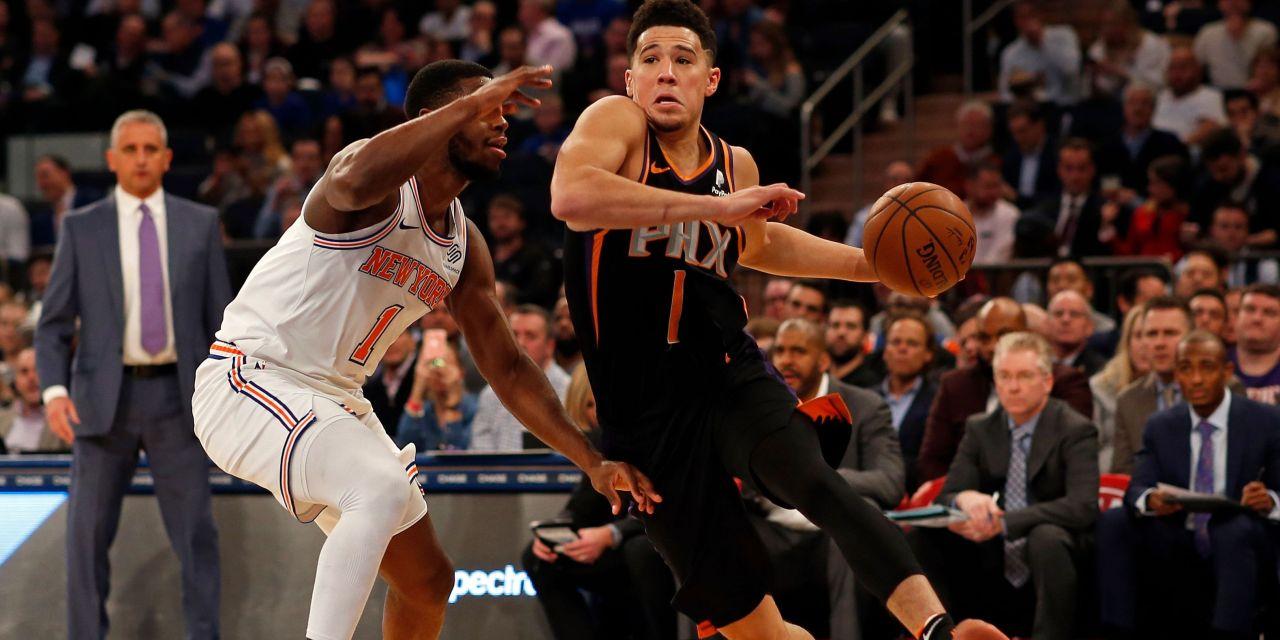 Knicks Wrap Up West Coast Trip in Phoenix Against Suns