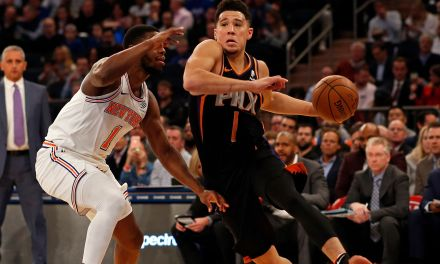 Knicks Wrap Up West Coast Trip in Phoenix Against Suns