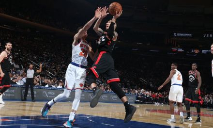 Devastating Shooting From Deep by Raptors Buries Knicks, 117-92