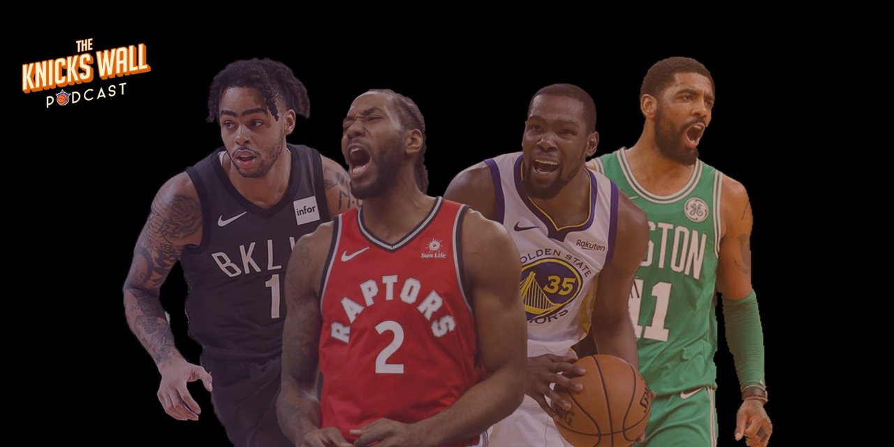 Podcast: Toronto vs Golden State; Celtics and Nets Offseasons