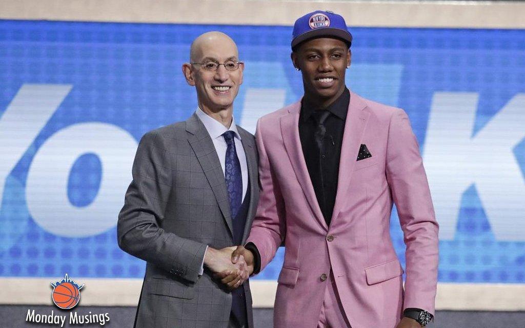 Monday Musings: Knicks Draft Reaction
