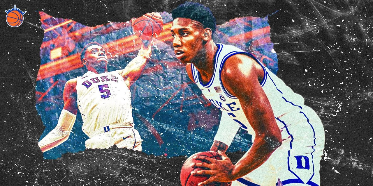 Is RJ Barrett the Layup Pick for the Knicks?
