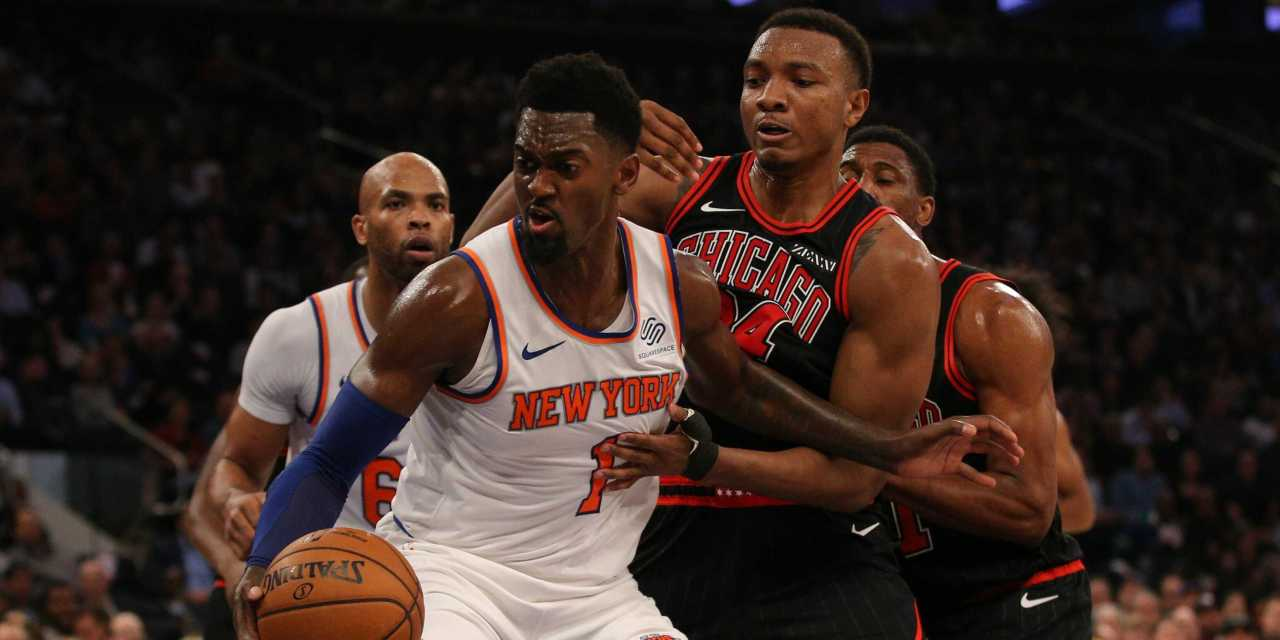 Knicks Notch Season's First Win With Bobby Portis' Help Against Bulls